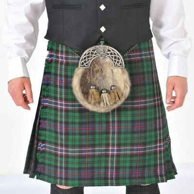 "Scottish National  8 Yard Scottish Kilt Ex Hire excellent condition 24"" drop"