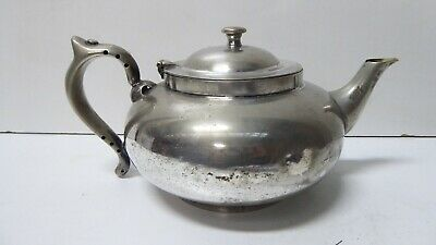 Vintage Robur Challenge Epns Silver Plated Teapot With Infuser