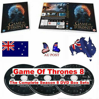 AU HOT 2019 Game Of Thrones DVD Box Sets The Complete Season Brand New Sealed
