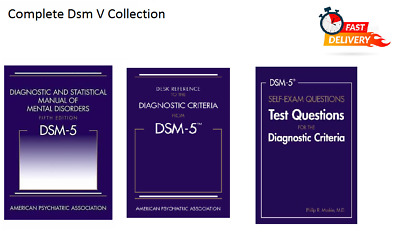 DSM-V - Diagnostic and Statistical Manual of Mental Disorders 5th Ed / E-copy/