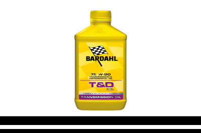 1Lt Aceite Cambio Transmisiones Diferenciales Bardhal T&D Oil Syntetic 75W90 Gl5