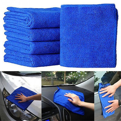 5x Durable Microfiber Cleaning Auto Soft Cloth Washing Cloth Towel Dus Hf PGPTH