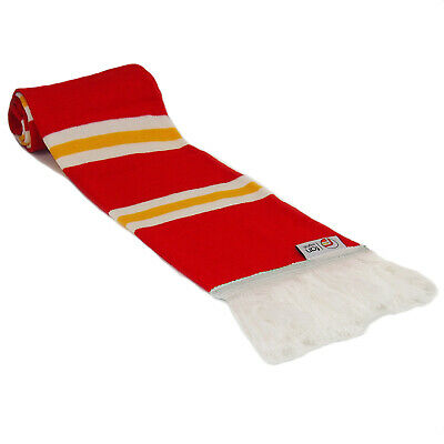 fan originals Retro Football Bar Scarf in Liverpool Colours Red White
