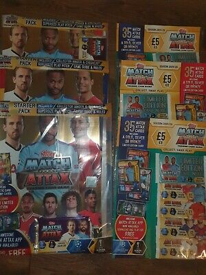 Match Attax 2019/20 Multi Pack X3 Starter Packs X 3 multi packs 19/20 Season