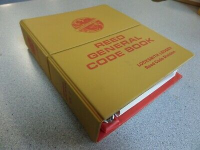 Reed General Code Book Volume 2 Used Excellent Shape