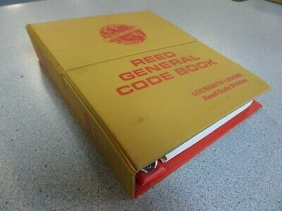 Reed General Code Book Volume 3 Used Excellent Shape