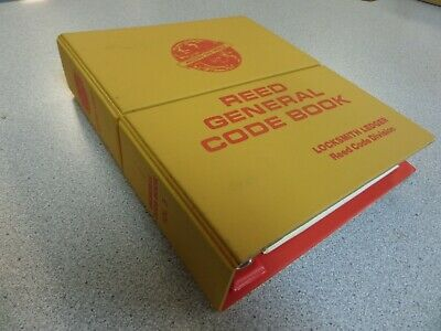 Reed General Code Book Volume 5 Used Excellent Shape
