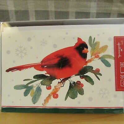 Hallmark Christmas Cards Cardinals Set Of 3 Boxes (16 Count Each) New LOT