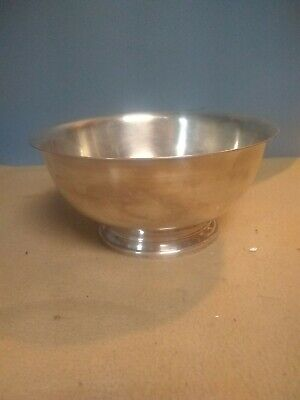 """Vintage Gorham Silver Plated Paul Revere 8"""" Bowl Yc 780-8 With"""