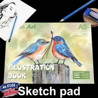 Atrist Painting Pad Art Craft Book Sketch illustration Drawing Paper 100gsm A5