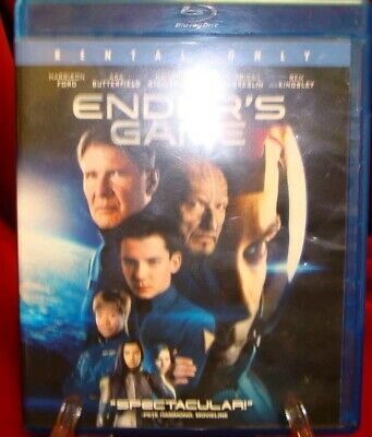 ONLY $3 BLU-RAYS : Ender's Game (Former Rental 1080p / 2013) FAST SHIPPING