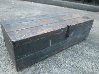 Vintage,Antique,Timber,Wooden,Carpenters,Tool Box,Woodwork,Tools,Wood