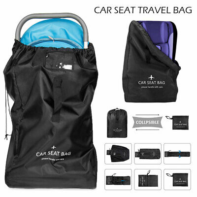 Car Seat Travel Bag Dust Cover Child Baby Infant Safety Seat Backpack Handles