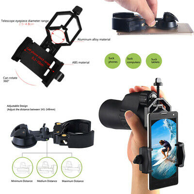 Universal Cell Phone Adapter Mount Holder For Telescope Spotting Scope Binocular