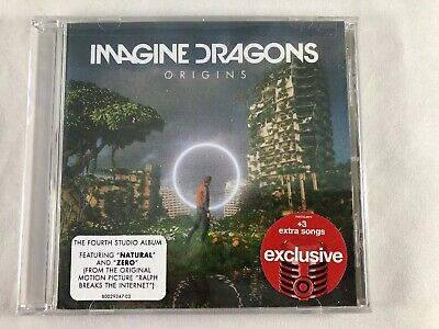 IMAGINE DRAGONS Origins TARGET Exclusive CD 3 Extra Songs Natural and Zero