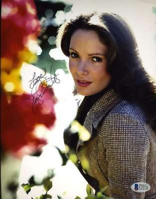JACLYN SMITH Hand Signed BAS BECKETT Cert 8x10 Photo Autographed Authentic