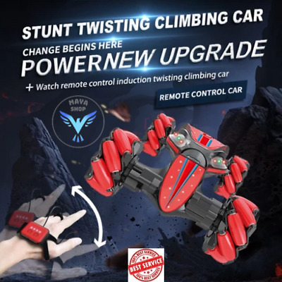 🔥😍Christmas Limited Time Offer-Gesture Control - Double-Sided Stunt Car Au