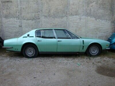 ISO Rivolta S4 1968 Grifo 350 CI engine and specs. Extremely rare Barn Find!