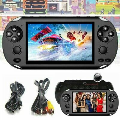128 Bit Built In 1000+Game Kids Player X9 Handheld Portable Video Game Console
