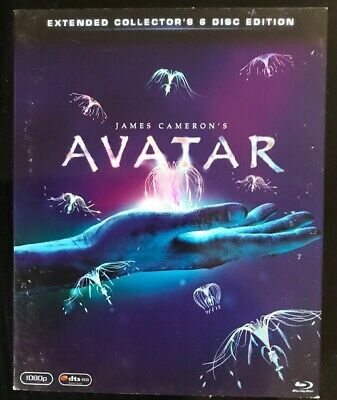 Avatar 6 Disc Extended Collectors Edition. Bluray / Dvd