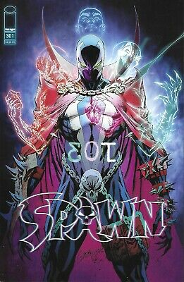 Spawn Comic 301 Cover J Variant First Print 2019 McFarlane Alexander Campbell