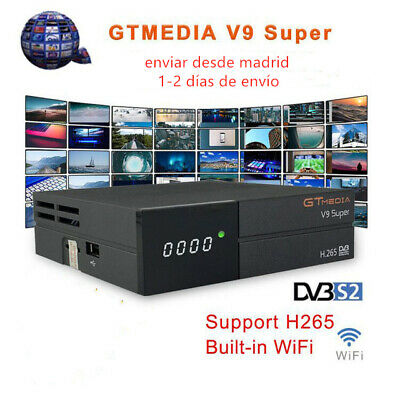 GTmedia V9 Super Digital TV Satellite Receiver DVB-S2 H.265 Built with Wifi