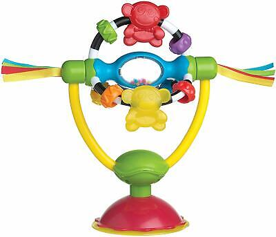 Playgro Rotating rattle with suction foot, For tables and high chairs, BPA-free,