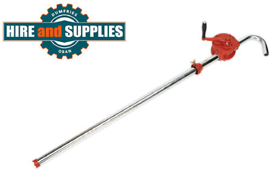Sealey TP54 cast iron rotary action drum pump for oils, antifreeze or degreaser