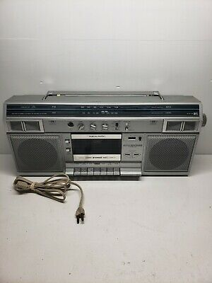 Vintage Realistic SCR-16 Boombox AM/FM Radio 1980s