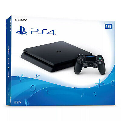 PlayStation 4 Slim 1TB Console (Bilingual) [Brand New]