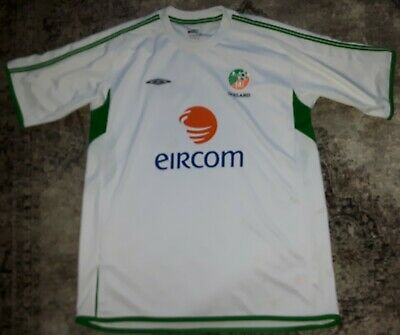 Republic of Ireland 2001/02 Training Football Shirt Large Eire