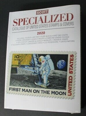 CKStamps : 2020 Scott Specialized Catalogue Of United States Stamps And Covers