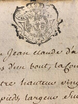 Antique Document 1755