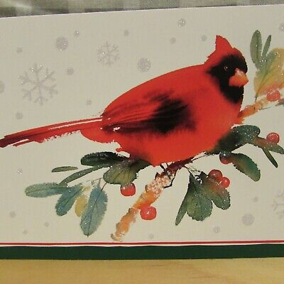 Hallmark Christmas holiday boxed Cards Cardinals (16 Count Each) New