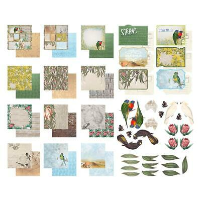 Couture Creations Collection Pack 12 x 12 Sunburnt Country 12 Papers + Stickers