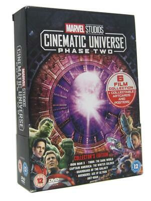 Marvel Studios Cinematic Universe: Phase Two (DVD 6 DISC BOX SET) *NEW/SEALED*