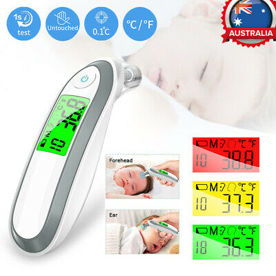 Body Thermometer Forehead Baby Kid Adult Surface Temperature Digital IR Infrared