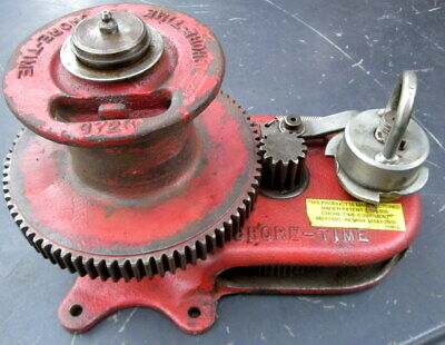 vintage CHORE TIME 3500lb , 4 spur gear , brake mounted hand winch