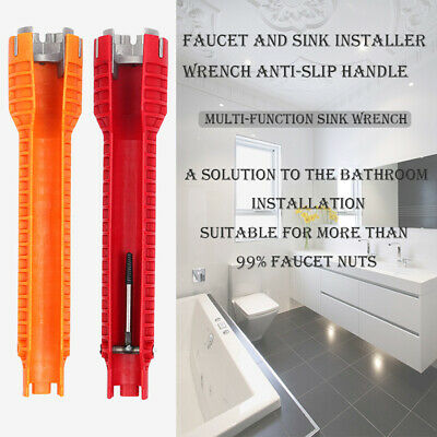 10 inch Wrench Water Pipe Socket Wrench Faucet Sink Spanner Installer Tool 33