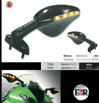 Spiegel LED BLINKER Yamaha YZF R6 R 1 NEW OVP