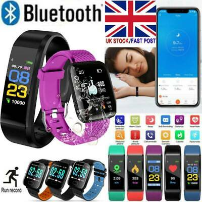 Fitness Smart Watch Activity Tracker WomenMen Kid Fitbit Android iOS Heart Rate_