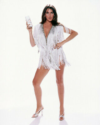 Caroline Munro Leggy Silver Outfit Pin Up 8x10 Photo