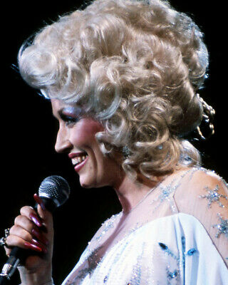 Dolly Parton In Profile Concert Iconic Image 8x10 Photo (20x25 cm approx)