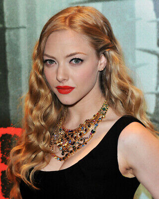 Amanda Seyfried In Time Red Hair 8x10 Photo 20x25cm