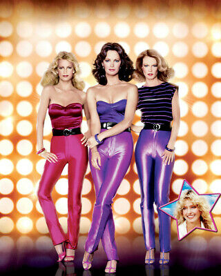 Charlies Angels 8x10 Photo Jaclyn Smith Cheryl Ladd Shelley Hack Tight Pants