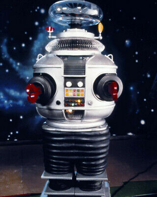 Lost In Space Great Image Of Classic Robot Tv Sci Fi 8x10 Photo(20x25cm)