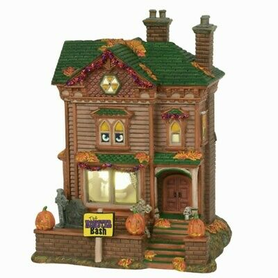 Dept 56 Monster Mash Party House Snow Village Halloween 6000659 NIB