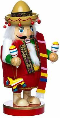 Kurt Adler 10.25-Inch Mexican Nutcracker Tablepiece - Chubby Collection