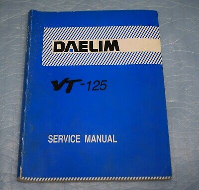 manuel d'atelier revue technique Service manual DAELIM VT 125
