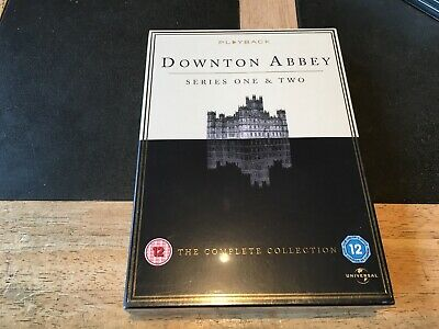 Downton Abbey Series One & Two Complete Collection SEALED NEW DVD BOX SET